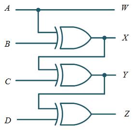 Gray to Binary Code Converter Circuit : Truth table & Logic